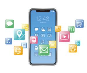 アップル社 iphone アプリ デザイン